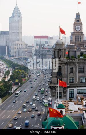 Le Bund shanghai Banque D'Images