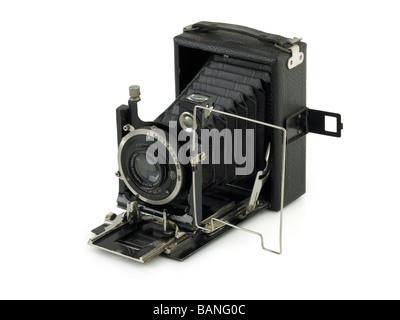 Trimestre pliage platine caméra vers 1930 Banque D'Images