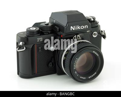 Appareil photo Nikon F3 Banque D'Images