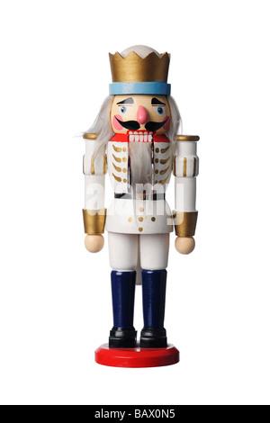 Soldat jouet en bois Banque D'Images