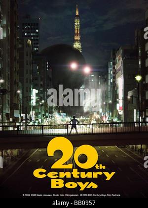 20-seiki shônen xxe siècle les garçons Année: 2008 Réalisateur: Tsutsumi Yukihiko affiche de film Banque D'Images