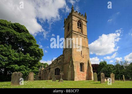 L'église Saint Pierre, Barnburgh, Doncaster, South Yorkshire, Angleterre, Royaume-Uni.