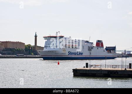 Le Ferry du Danemark à la Suède à Göteborg Banque D'Images