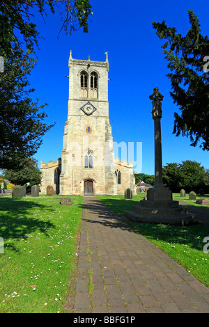 L'église St Mary Sprotbrough, Doncaster, South Yorkshire, Angleterre, Royaume-Uni.
