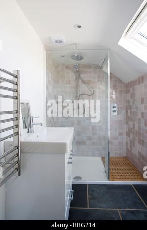 Salle de Bain,Salle de bains,douche,wc,chambre, Banque D'Images