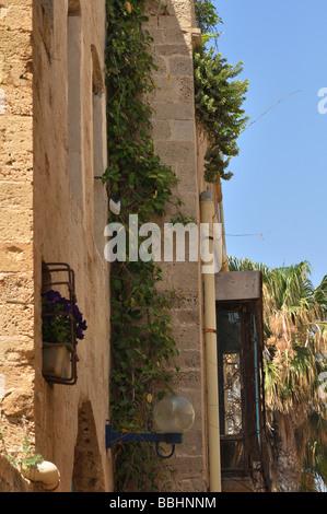 Vieille ville de Jaffa en Israël Banque D'Images