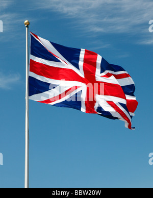L'Union Jack flag. Banque D'Images