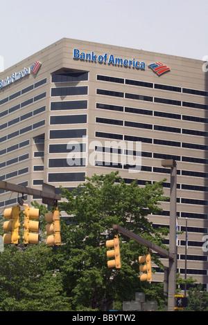 La banque d'Amérique immeuble de bureaux à Baltimore Maryland, USA Banque D'Images