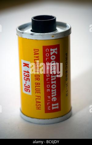A 35mm rouleau de film Kodachrome Banque D'Images