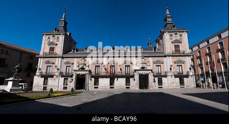 Casa de la villa de Madrid towm hall hotel de ville de Madrid Banque D'Images