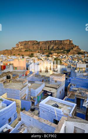 Les toits, Jodhpur (la Ville Bleue), Rajasthan, Inde
