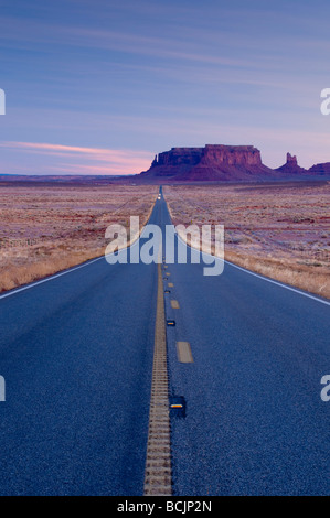 USA Arizona-Utah Monument Valley Banque D'Images