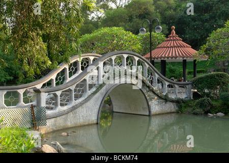 Chine Hong Kong Sha Tin Nouveaux Territoires Park Banque D'Images