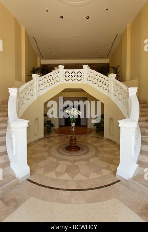 Couloir, vase à fleurs, Steigenberger Al Dau Beach Resort, Hurghada, Egypte, Mer Rouge, Afrique