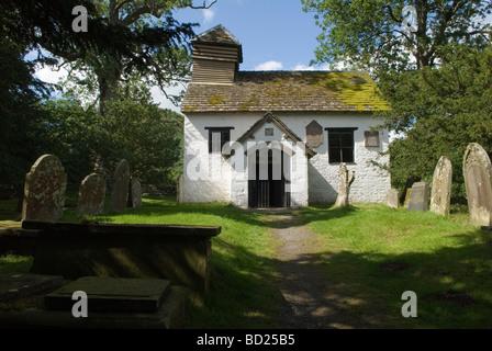 Capel y Ffin Fin Eglise St Mary the Virgin Parc national de Brecon Beacons Monmouthshire au Pays de Galles HOMER Banque D'Images