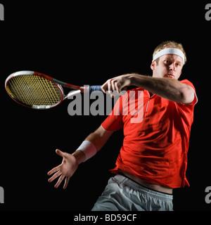 Joueuse de tennis Banque D'Images