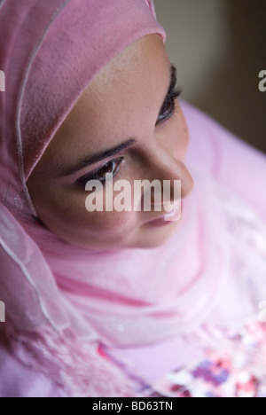 Portrait Portrait d'une jeune fille musulmane
