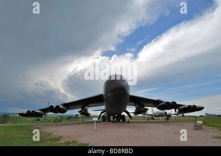 Boeing B 52D Stratofortress avion au Dakota du Sud l'air et de l'espace près de Rapid City