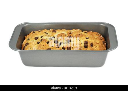 Miche de pain de noix et chocolat Banque D'Images