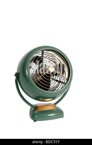 Un ventilateur rétro faites par Vornado Banque D'Images