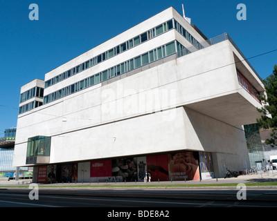 Vue extérieure du nouveau Varldskulturmuseet ou Musée des Cultures du Monde à Göteborg en Suède Août 2009 Banque D'Images