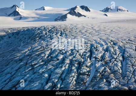 Harding Icefield, Kenai Fjords National Park, Alaska. Banque D'Images