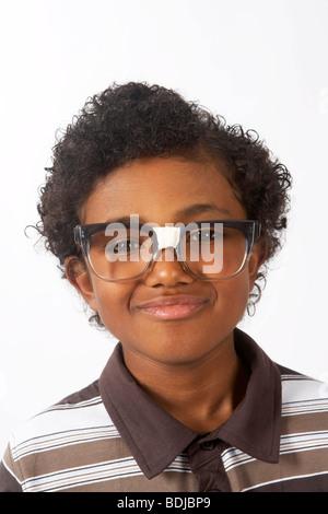 Portrait de garçon Banque D'Images