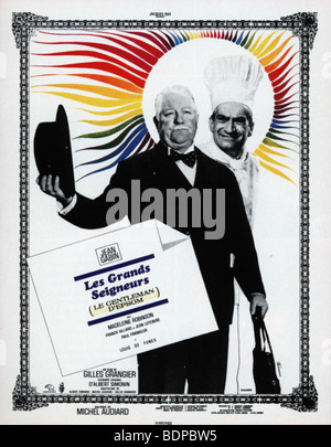 Le gentleman d'Epsom Année: 1962 Réalisateur: Gilles Grangier affiche de film Banque D'Images