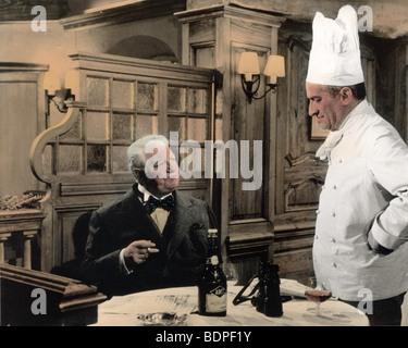 Le gentleman d'Epsom Année: 1962 Réalisateur: Gilles Grangier Jean Gabin, Louis de Funès Banque D'Images