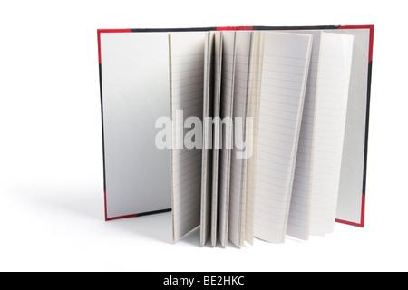 Carnet de notes à couverture rigide Banque D'Images