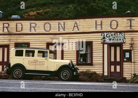 New Zealand - South Island - Central Otago - Cardrona - Hôtel construit en 1863 Banque D'Images