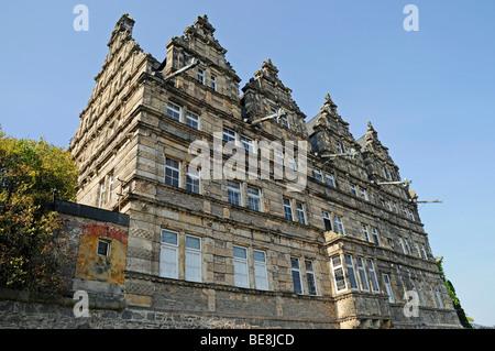 Haemelschenburg, château Renaissance de la Weser, Bad Pyrmont, Hameln, Emmerthal, Basse-Saxe, Allemagne, Europe