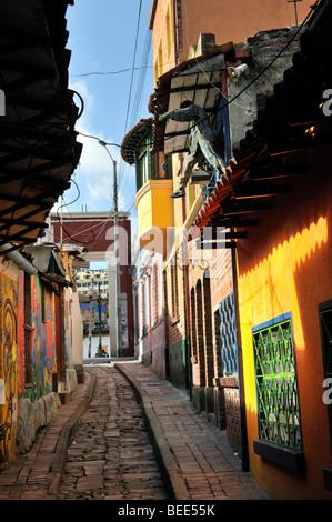 Quartier de La Candelaria, à Bogotá, en Colombie, en Amérique du Sud Banque D'Images