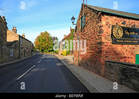 Village de Wentworth, Rotherham, South Yorkshire, Angleterre, Royaume-Uni. Banque D'Images