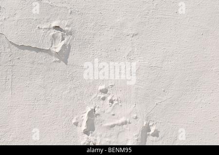 La texture en stuc blanc ou d'arrière-plan Banque D'Images
