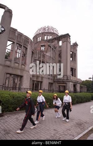 Le Japon, où le dôme atomique bombe atomique a explosé, Hiroshima. photo par Sean 2008 Spraqgue Banque D'Images
