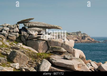 Pulpit Rock sur St Mary's, Îles Scilly
