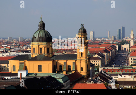 Germany, Bavaria, Munich, Theatine Church Banque D'Images