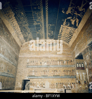 La Tombe de Seti I, Vallée des Rois, Thèbes, Luxor, Egypte, Afrique du Nord Banque D'Images