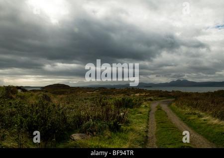 Isle of Jura de Keillmore sur le continent Banque D'Images
