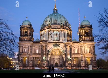 La Cathédrale de Berlin, Berlin, Allemagne Banque D'Images