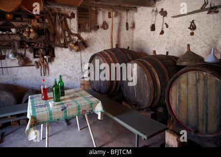 Cave à vin en Škrip, Venise, Italie Banque D'Images
