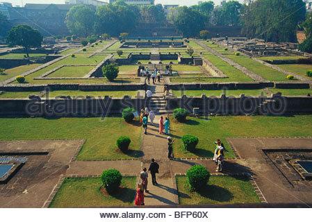 66115 PP: Vue intérieure de Shaniwarwada Shanwarwada; Pune Maharashtra; Inde; Banque D'Images