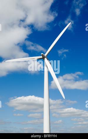 L'énergie renouvelable éolienne Banque D'Images