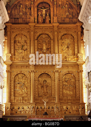 Cathédrale Se à Old Goa, UNESCO World Heritage Site, Goa, Inde, Asie