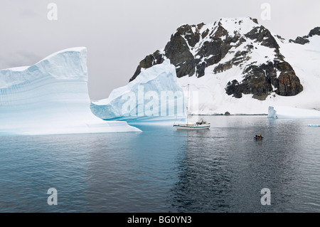 Canal Errera, Péninsule Antarctique, l'Antarctique, régions polaires Banque D'Images