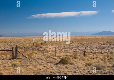 USA, Colorado Nouvelle Frontière Mexique Banque D'Images