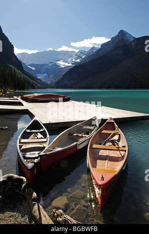 Lake Louise, Banff National Park, Alberta, Canada Banque D'Images