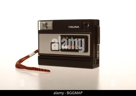 Disque Retro Camera Vue de gauche Banque D'Images