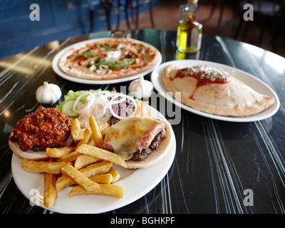 Junk Food Banque D'Images